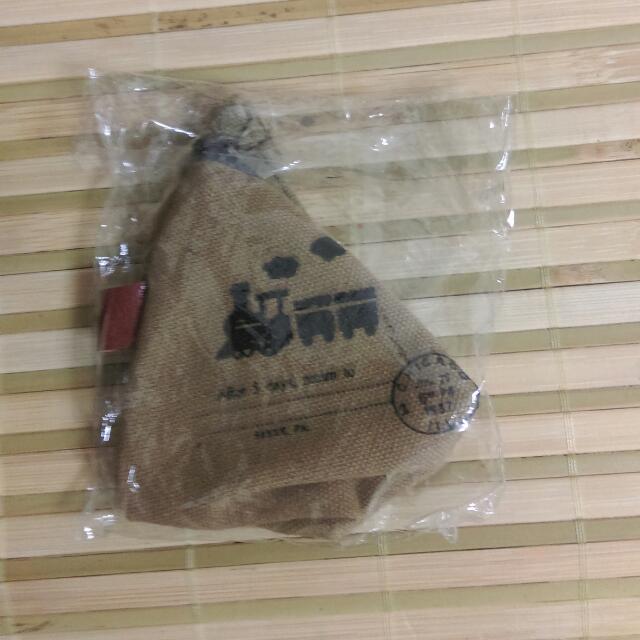 三角肉粽造型零錢包