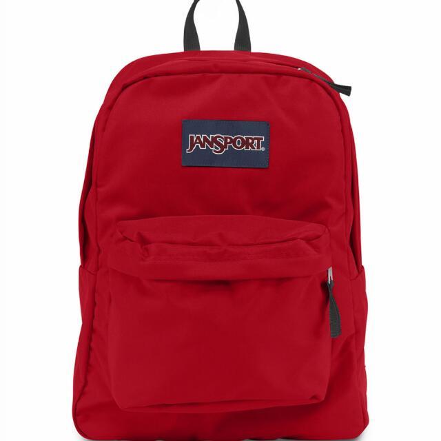 Jansport基本款學生後背包  八成新 2900購入 可私我看細圖喔