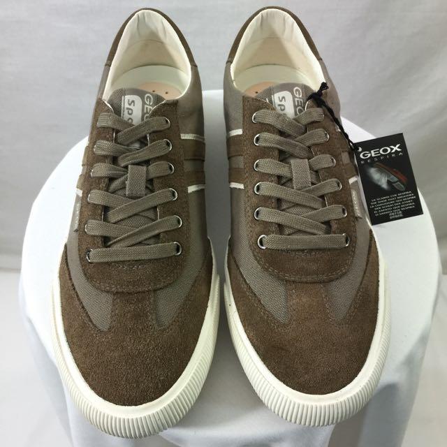 d8479bb146 Men Geox Respira Pit Walking Fashion Sneaker Sport Lace Trainers Shoes Size  10, Men's Fashion on Carousell