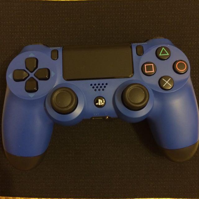 PS4-原廠手把(藍色)(9.99成新)