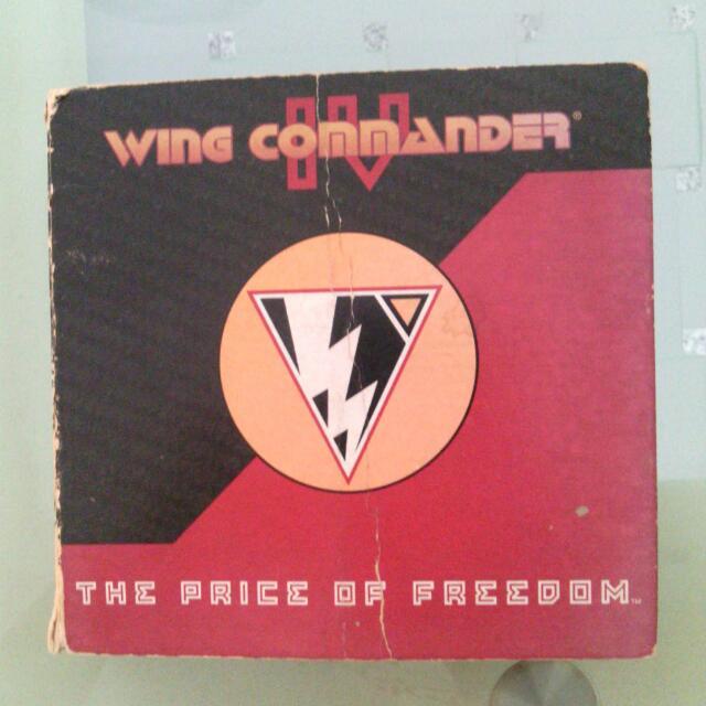 Wing Commander 4 Game Genuine Early Copy (Vintage)