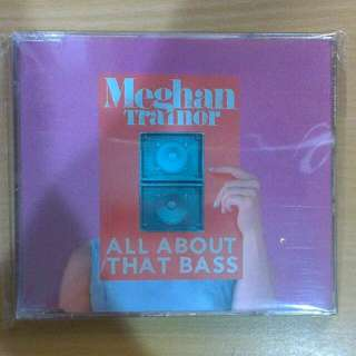 Meghan Trainor All About That Bass 歐版 全新 單曲 Cd