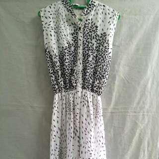 BN Monochrome Maxi Dress