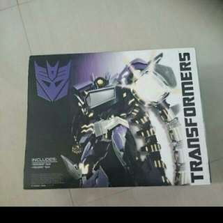 *NEW UNOPENED IN BOX* TRANSFORMERS VOYAGER CLASS SHOCKWAVE(WITH PREDAKING) 30TH ANNIVERSARY