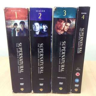 Full Series Season 1-4 Supernatural DVD