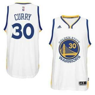 Stephen Curry 2015 勇士隊一般主場球衣