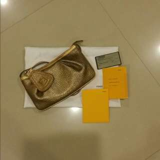 Pre-loved Fendi Pouch Bag