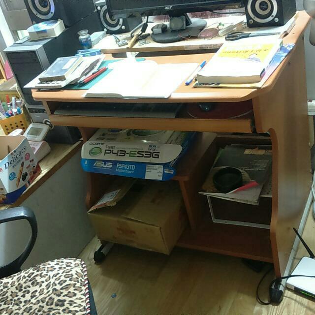 堅固的二手電腦桌