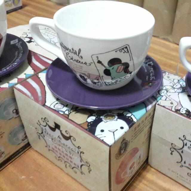 小七咖啡杯組