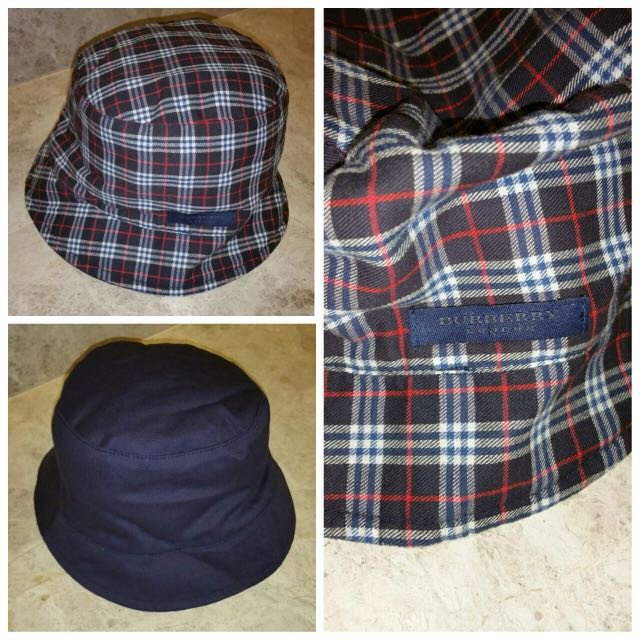 BURBERRY Reversible Bucket Hat f08a2ccb55e