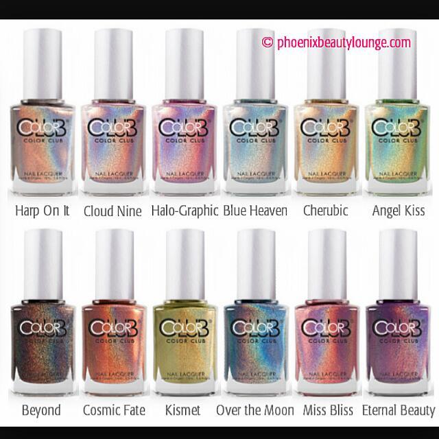 Color Club Halo Hues Holographic Nail Polish Health Beauty On Carou
