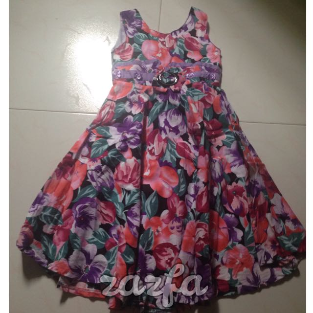 GCS FLORAL DRESS