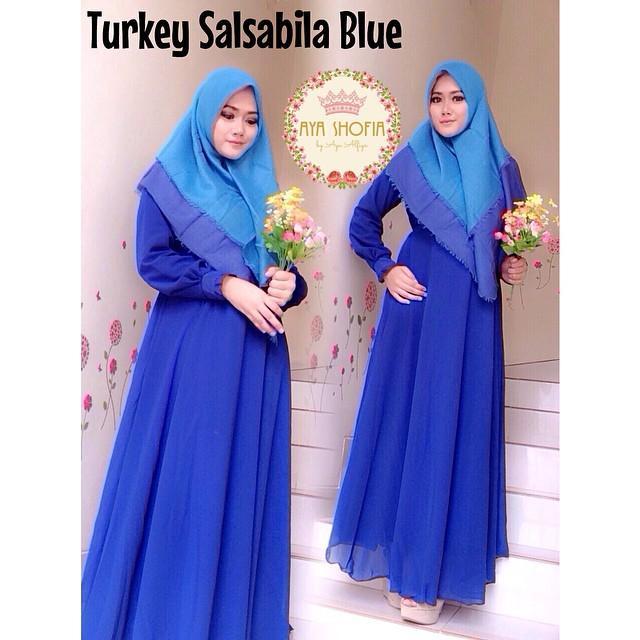 Turkey salsabila blue