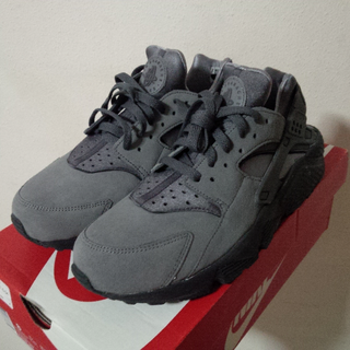 [[Authentic]] NIKE AIR HUARACHE ANTHRACITE COOL GREY/BLACK OG US SIZE 8/UK 7/EUR 41/BR 39.5