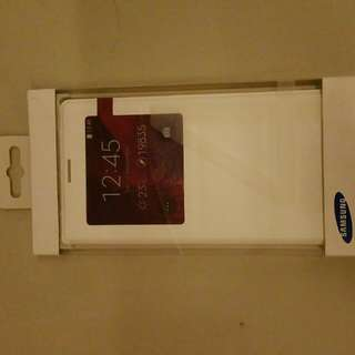 Brand New Orginal Samsung S View Note 4 Cover In White Colour