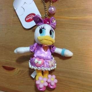 東京迪士尼 唐老鴨的女朋友 黛西 吊飾(已降價)