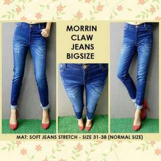 Morin claw jeans bigsize