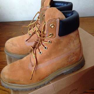 Timberland經典黃靴24