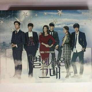 韓劇 來自星星的你OST(韓國進口版)