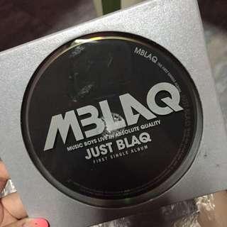[PENDING] AUTOGRAPHED MBLAQ JUST BLAQ ALBUM