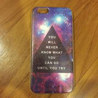 """iPhone 6/6s """"You Will Never Know What You Can Do Until You Try"""" Shiny Case"""