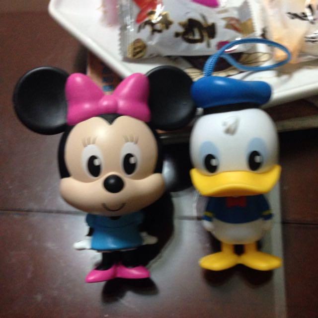 迪士尼總動員-米妮、唐老鴨