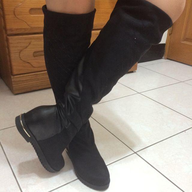 日本小羊皮長靴