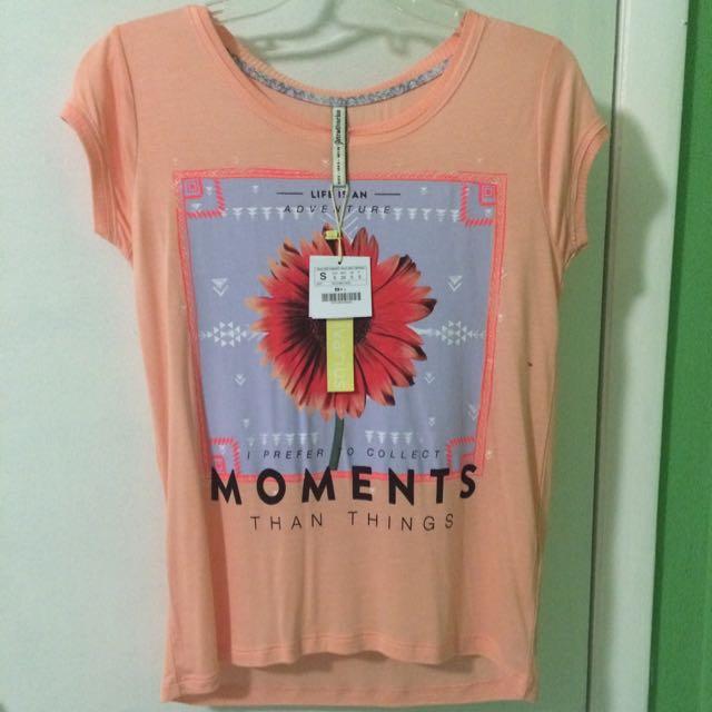 A Nice Peachy Shirt.