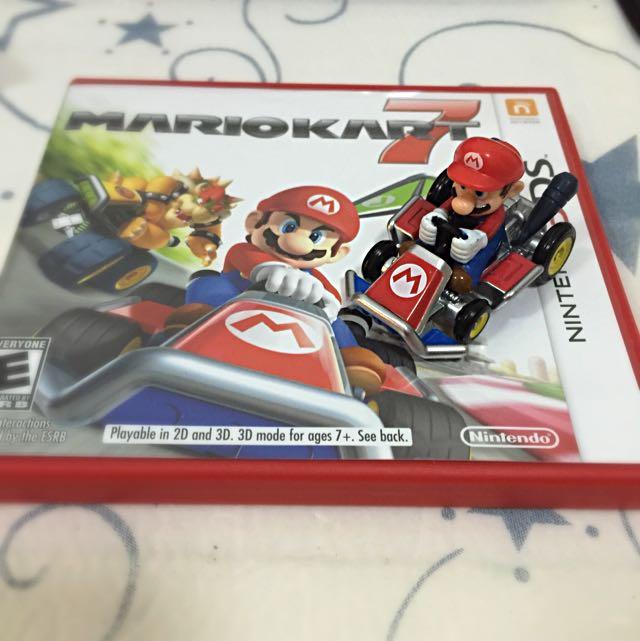 Nintendo 3ds Mariokart 7