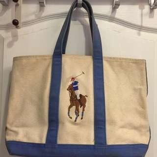 Polo Ralph Lauren 帆布手提包