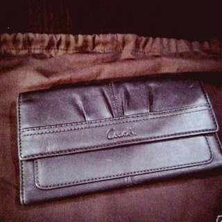 COACH皮夾。