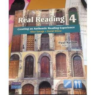 大學英文課本real Reading4
