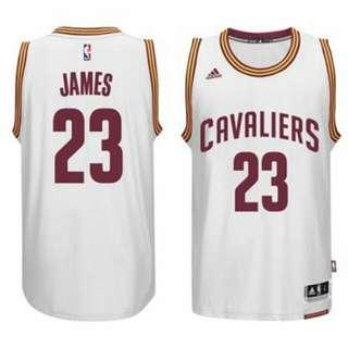 LeBron James 2015 騎士隊一般主場球衣