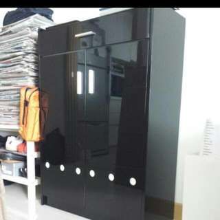 SHOE CABINET( Reduced Price..NOW.$100 ONLY)   *L 75 Cm   *H 106 Cm