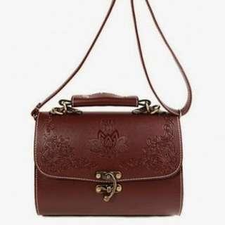 Anna Sui inspired handbag