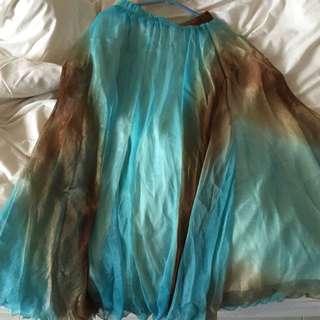 Beautiful Blue Maxi Skirt!!! BN!!!