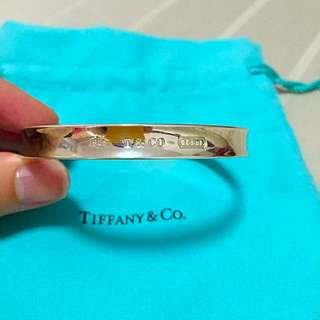 AUTHENTIC PRE-LOVED TIFFANY AND CO 1837 BANGLE