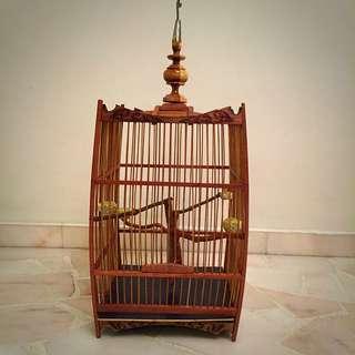 Brand New Penang Mata Puteh/ Small Birds Tribal Design Bird Cage