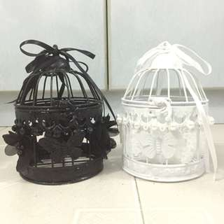 Small Self-crafted Birdcage Set