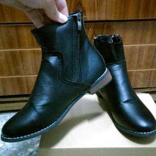 超顯瘦中短靴