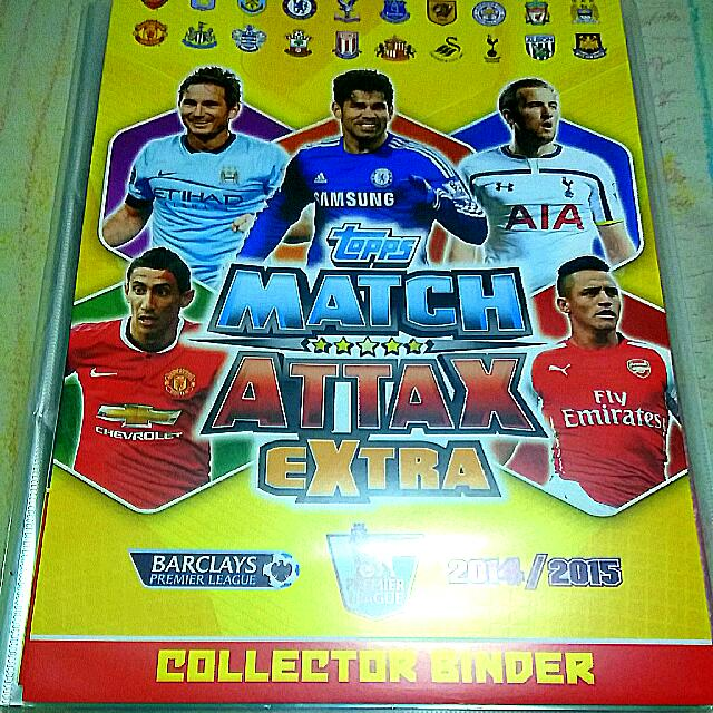 2015 EPL Match Attax Duo COLLINS /& TOMKINS West Ham United 420 2014