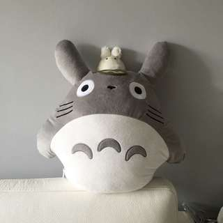 Totoro Soft Toy Cushion Pillow With Blanket Inside (kids / Adults)