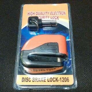 High Quality Electron Security Lock (Disc Brake Lock For Motorbike)