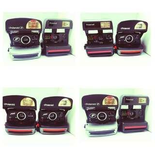 Polaroid Instant Cameras X 6 Pieces: Talking Polaroid, Polaroid P And Polaroid 790