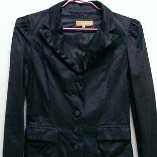 黑色合身西裝外套,尺寸S
