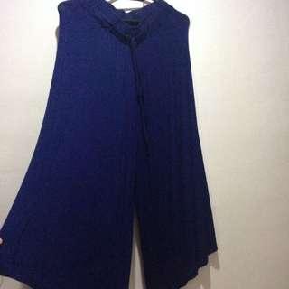 Blue Stretchable Pants