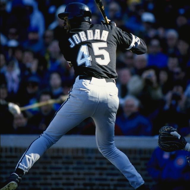 half off 92faa b3551 Chicago White Sox Baseball Jersey Michael Jordan 45, Men's ...