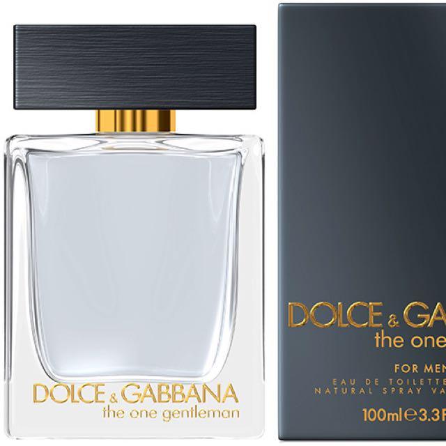 3c36aaa56 DG The One Gentlemen EDT 100ml, Men's Fashion on Carousell