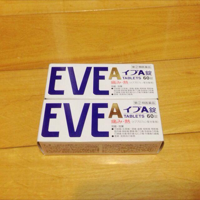待匯款 Eve止痛藥