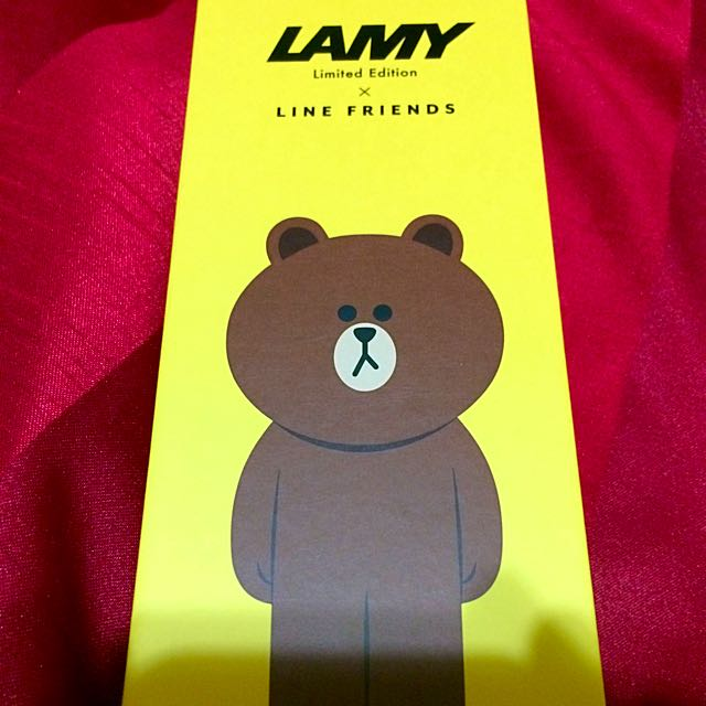 Line X Lamy 限定合作款鋼筆